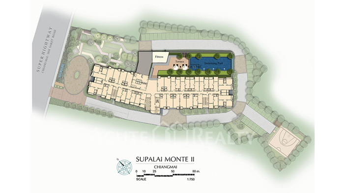 Condominium  for sale Supalai Monte II Chiang Mai - Doi Saked road image3
