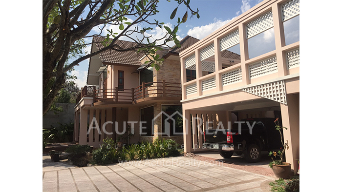 House  for sale & for rent Chet Yod Rd., Changpuak image1