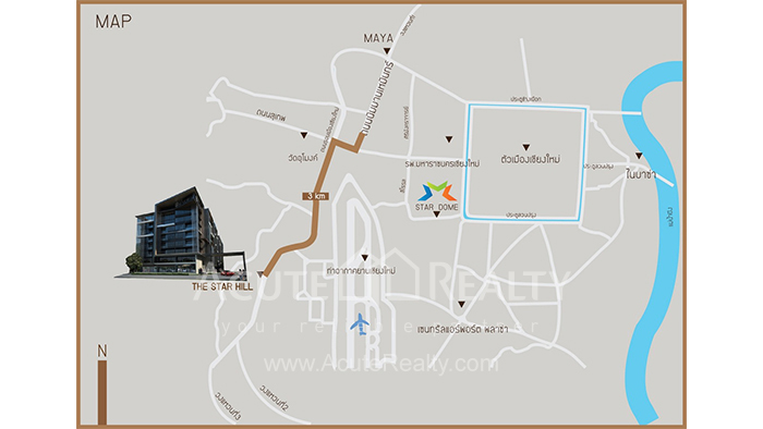 Condominium  for sale The Star Hill Muang, Chiang Mai image13
