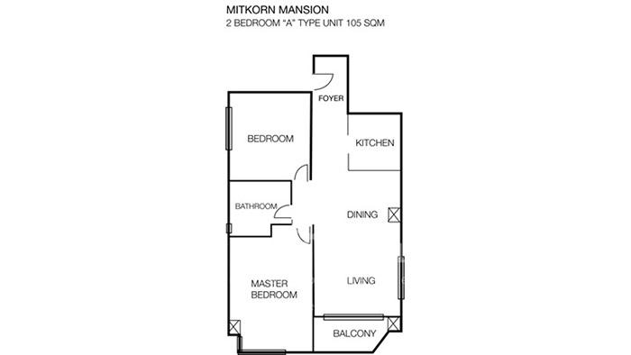 Condominium  for rent Mitrkorn Mansion Rajdamri image15