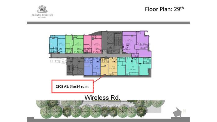 Condominium  for sale Oriental Residence Wireless road image7