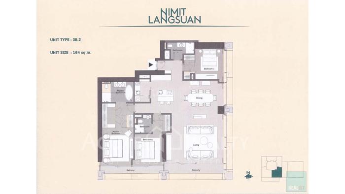 Condominium  for sale Nimit Langsuan Langsuan image7