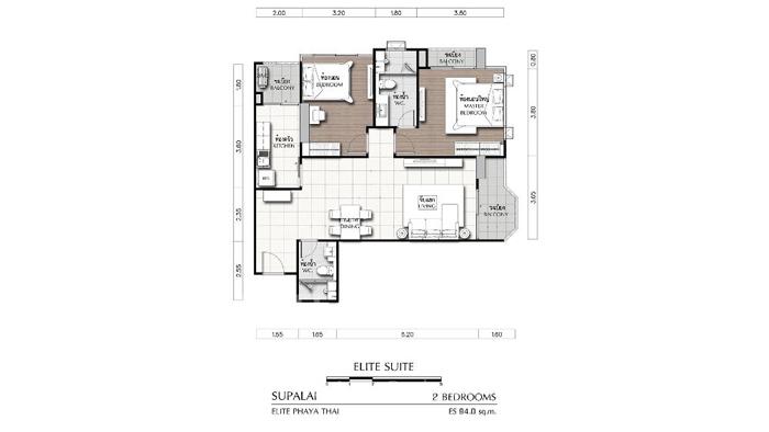Condominium  for sale Supalai Elite @Phayathai Phayathai image3