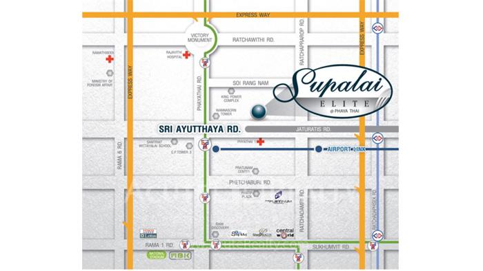 Condominium  for sale Supalai Elite @Phayathai Phayathai image4