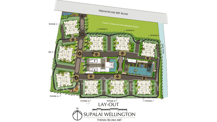 Condominium  for sale & for rent Supalai Wellington Ratchadapisek  image24