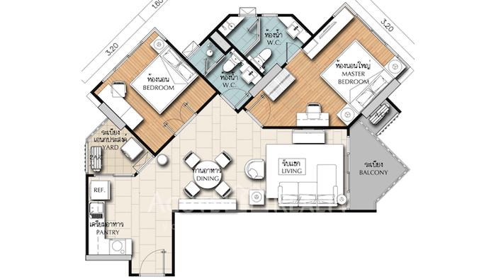 Condominium  for sale & for rent Supalai Wellington Ratchadaphisek image9