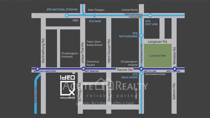 Condominium  for sale & for rent Ideo Q Chula-Samyan Rama 4 image14