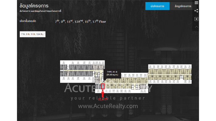 公寓  for sale Ideo Sukhumvit 93 sukhumvit 93, image11