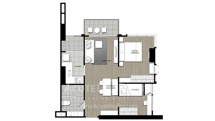 Condominium  for sale U Delight Residence Riverfront Rama 3 Rama 3 image6