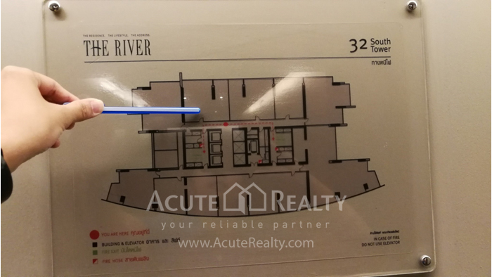 Condominium  for sale & for rent The River Sathorn - Charoennakorn image11