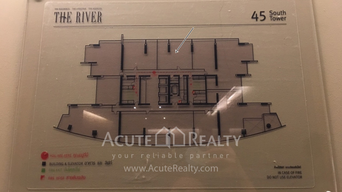 Condominium  for sale & for rent The River Charoennakorn image14