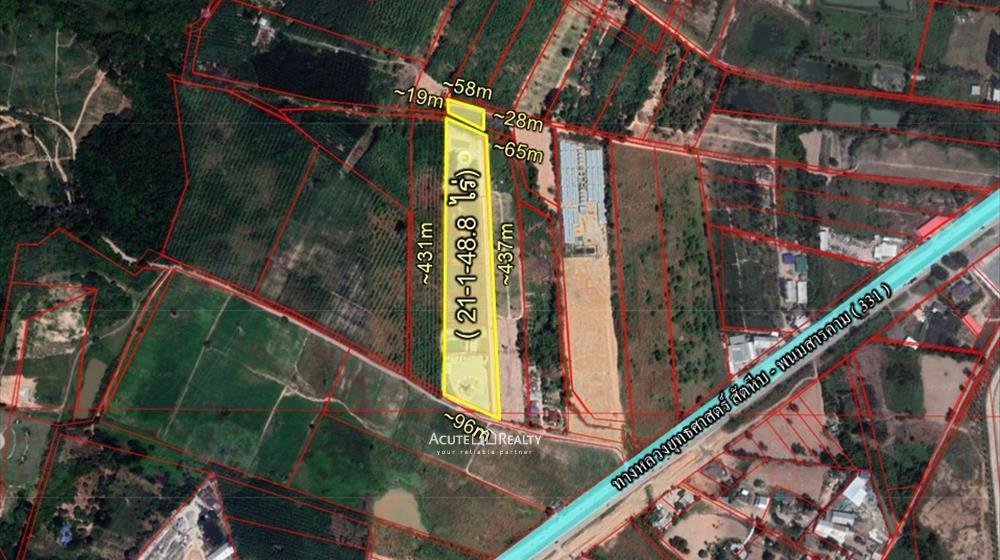 Land  for sale Khao Khan Song, Siracha District, Chon Buri  image0