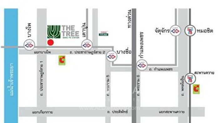 Condominium  for sale & for rent The Tree BangPo Station Bangpo image10