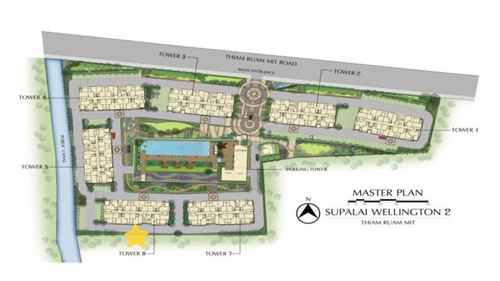 Condominium  for sale Supalai Wellington II Ratchadapisek  image2