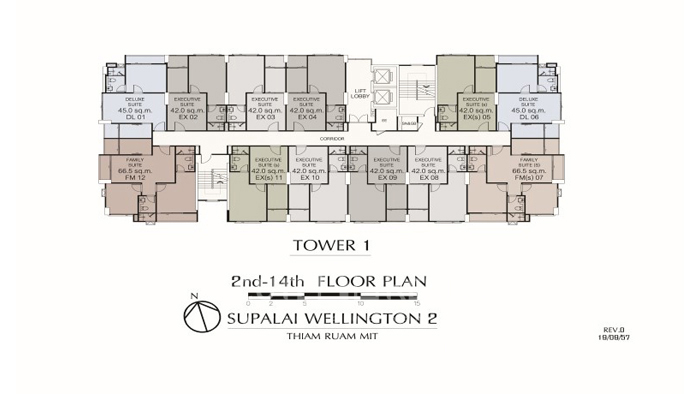 Condominium  for sale Supalai Wellington II Huay Kwang image14
