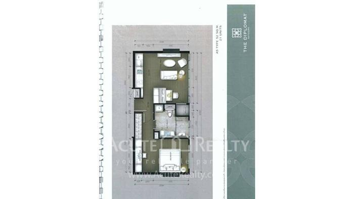 Condominium  for sale The Diplomat Sathorn Sathorn image16
