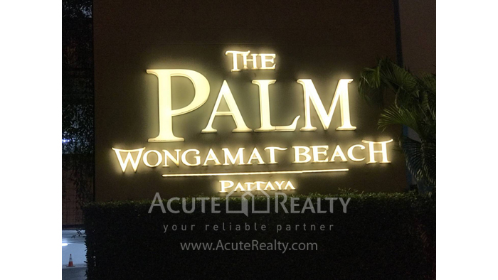 Condominium  for rent THE PALM WONGAMAT BEACH PATTAYA Wongamat PATTAYA CHOUBURI image0