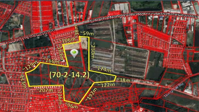 Land  for sale Nong Yai Bu ,Sriracha , Chonburi. image0