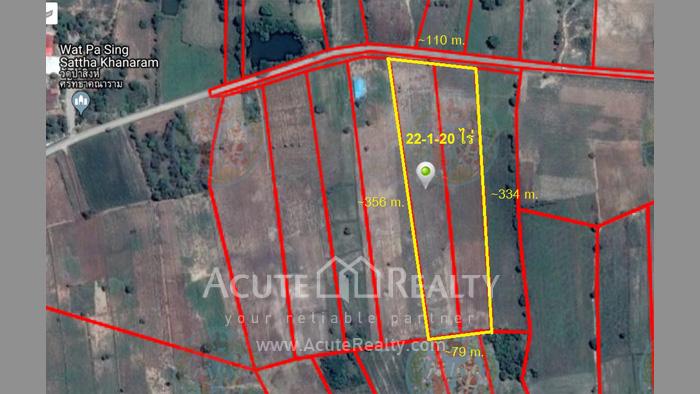 Land  for sale Chaiyaphum Road - Sikhio. image1