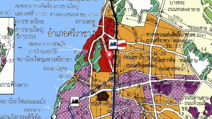 公寓行业, 土地  for sale Kao Kilo Rd, Surasak, Sriracha. image9