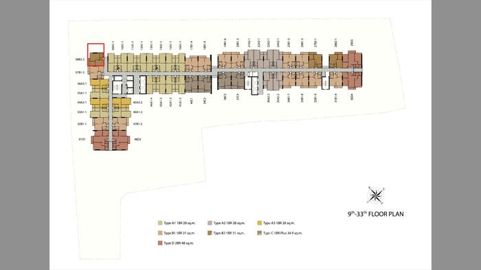 Condominium  for sale Niche Mono Sukhumvit-Bearing Sukhumvit - Bearing image1