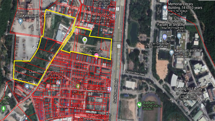 Land  for sale Sukhumvit Road, Ao Udom, Si Racha District. image3