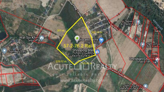 土地  for sale Sukhumvit 7 Road, Soi Huai Pong-Technic. image0