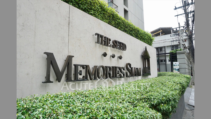 Condominium  for sale & for rent The Seed Memories Siam Rama 1 Kasemsan 1 image9
