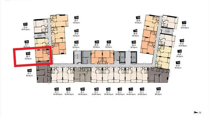公寓-出售-niche-mono-charoen-nakorn