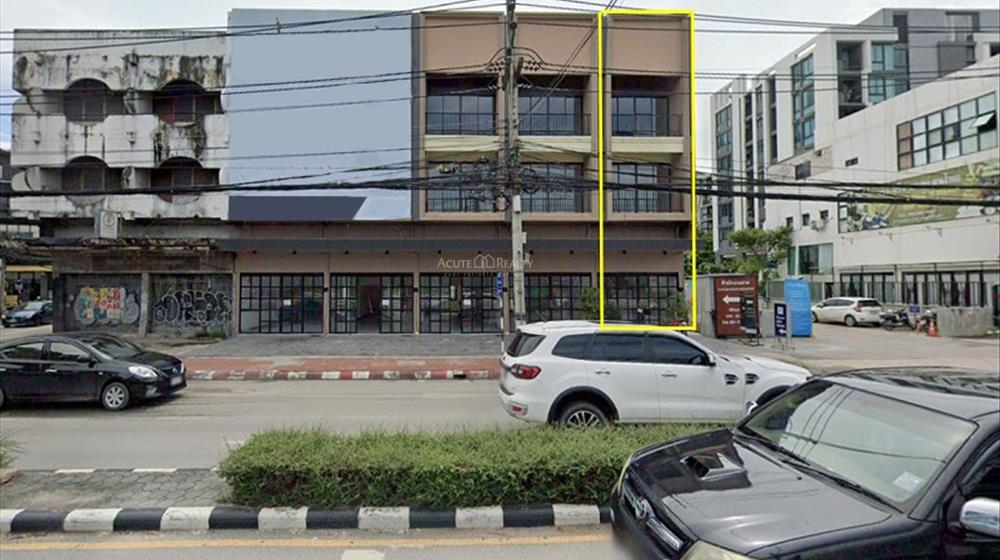 Shophouse  for sale & for rent Huay Kaew Road image0