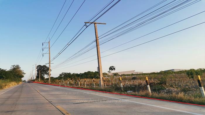 Land  for sale Chonburi-Pattaya Hwy, Bang Phra.  image1