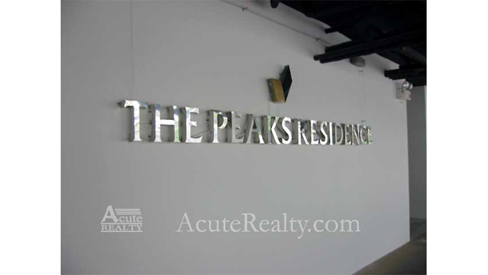 Condominium  for rent The Peaks Residence Early Sukhumvit, near NIS. image17