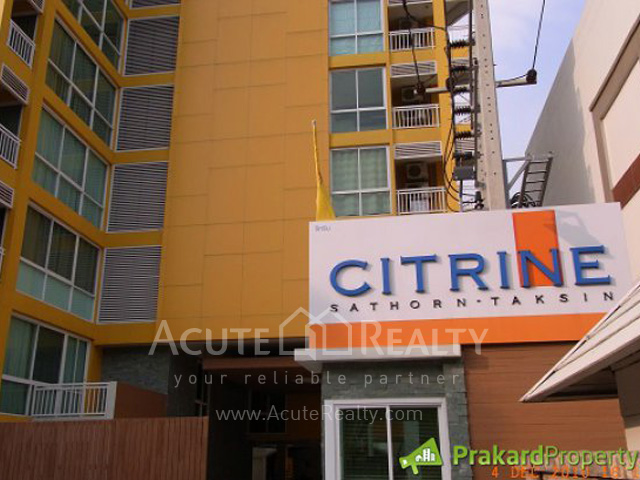 Condominium  for sale Condo One Sathon  Yenakart image2