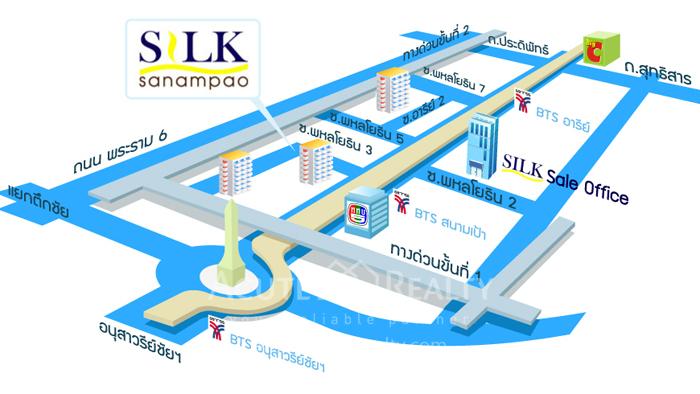 Condominium  for sale Silk Sanampao Sanampao image8