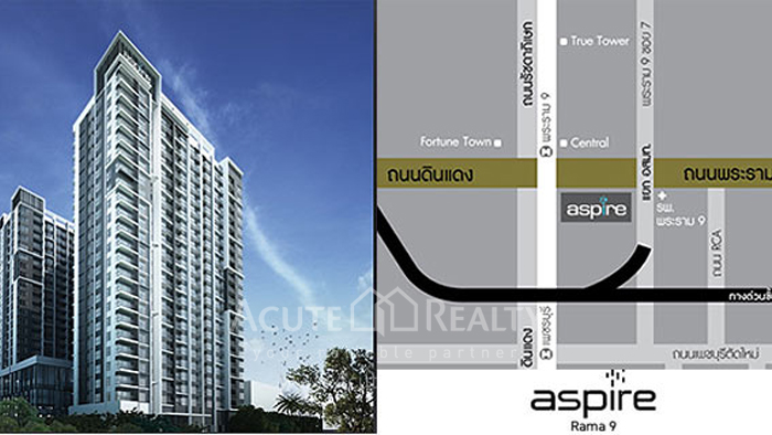 公寓  for sale & for rent Aspire Rama 9 Rama 9 image0